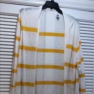 Old Navy long stripe cardigan